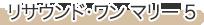リサウンド・ワン マリー 5